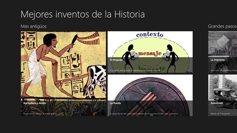 Mejores Inventos de la Historia screen shot 0