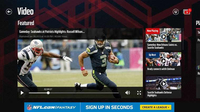 NFL Mobile screen shot 4