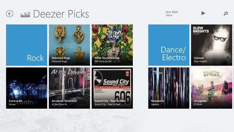 Deezer Screenshot 4