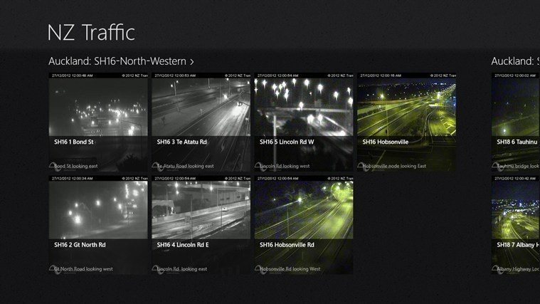 NZ Traffic screen shot 0