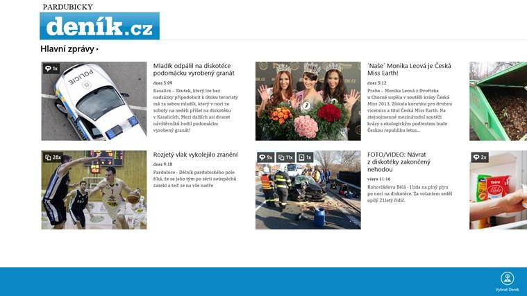 Deník.cz snímek obrazovky 0