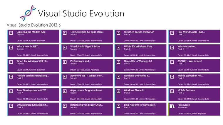 Visual Studio Evolution Screenshot 0