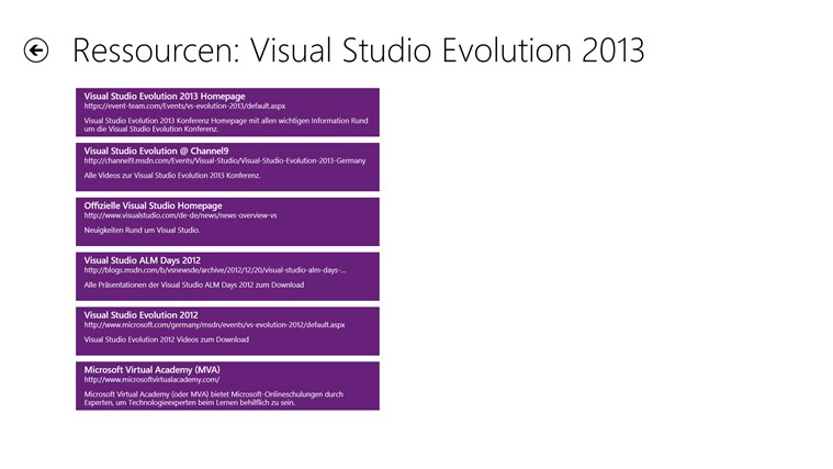 Visual Studio Evolution Screenshot 4