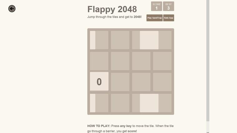2048. screen shot 6
