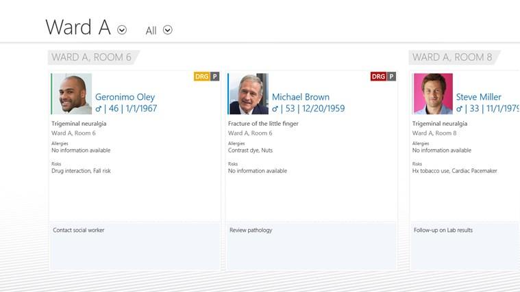 SAP EMR Unwired screen shot 2