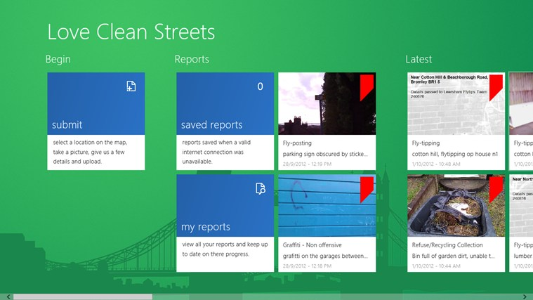 Love Clean Streets screen shot 2