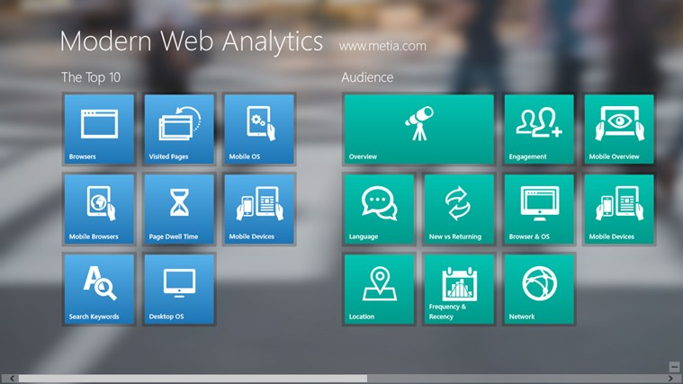 Modern Web Analytics screen shot 4