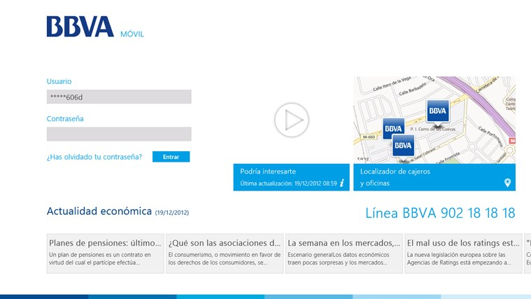 BBVA ES screen shot 0