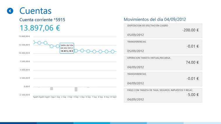 BBVA ES screen shot 2
