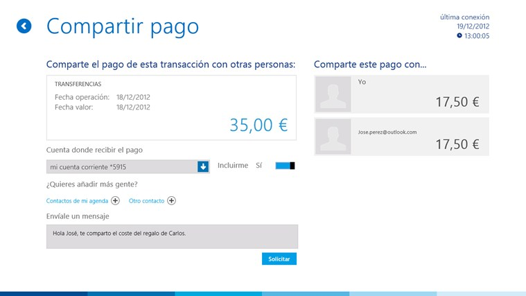 BBVA ES screen shot 4