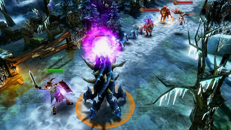 Heroes of Order & Chaos - Multiplayer Online Battle screen shot 0