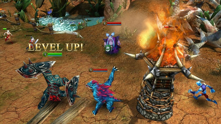 Heroes of Order & Chaos - Multiplayer Online Battle screen shot 2