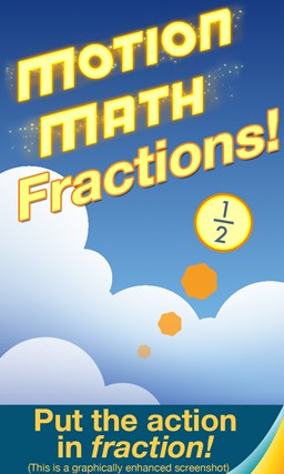 Motion Math: Fractions! screen shot 0