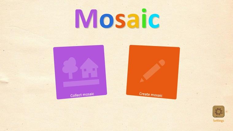 Kids Mosaic full screenshot