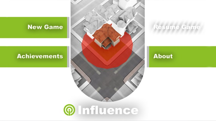 Influence screen shot 0