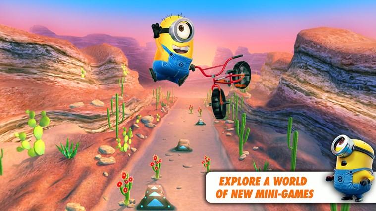 Despicable Me: Minion Rush screen shot 2