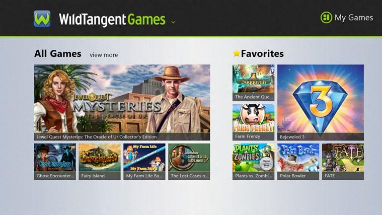 - Games App - screen shot 0