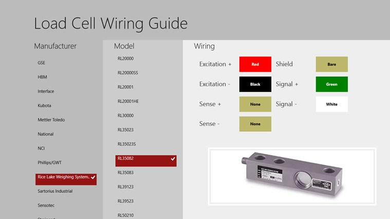 Load Cell Wiring Guide U2013 Windows Apps On Microsoft Store Manual Guide