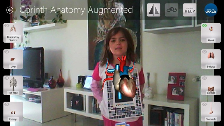 Corinth Micro Anatomy Augmented screen shot 0
