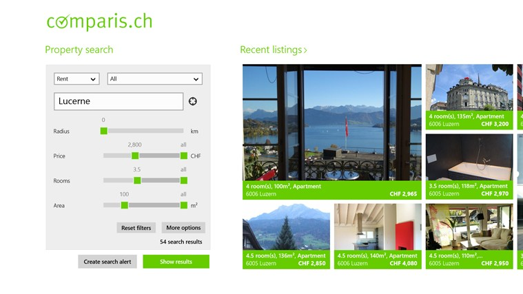 Property Switzerland screen shot 0