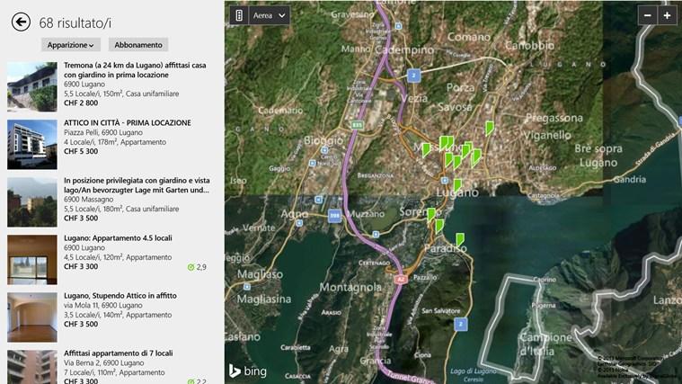 Immobili Svizzera cattura di schermata 2