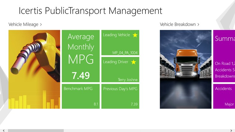 Icertis PublicTransport Management screen shot 0