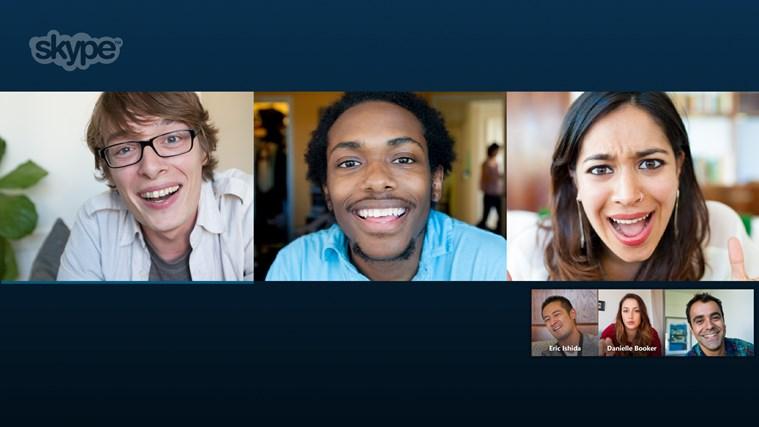 Skype screen shot 0
