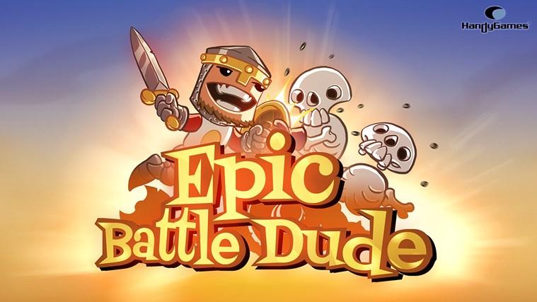 Epic Battle Dude screen shot 0