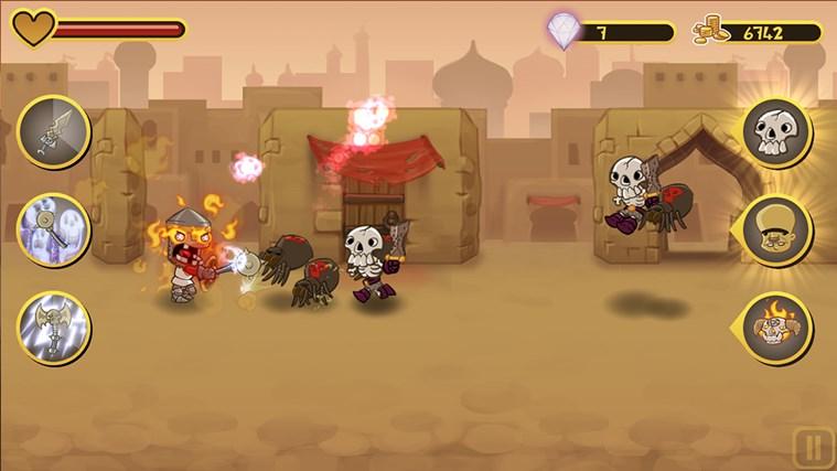 Epic Battle Dude screen shot 2