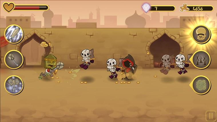 Epic Battle Dude screen shot 4