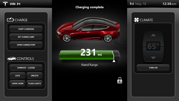 Tesla Companion screen shot 0