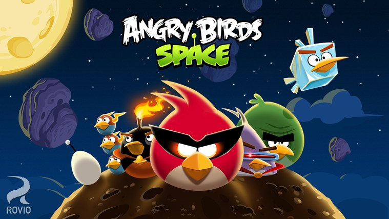 Angry Birds Space capture d'écran 0