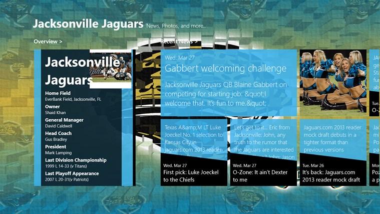 Jacksonville Jaguars Live screen shot 0