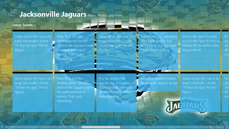 Jacksonville Jaguars Live screen shot 2