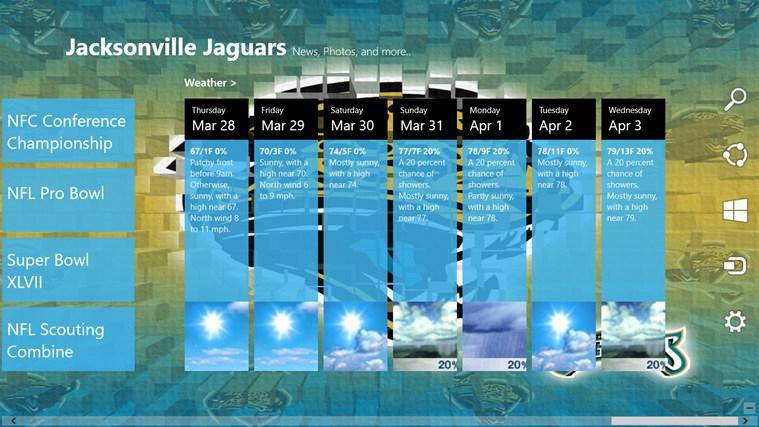Jacksonville Jaguars Live screen shot 4