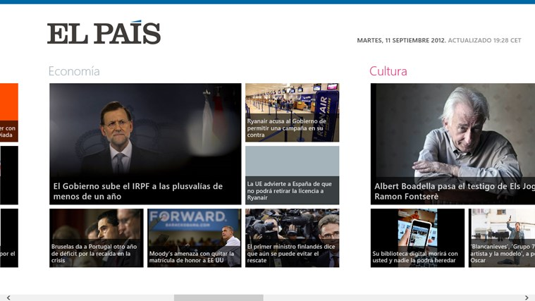 El País screen shot 0
