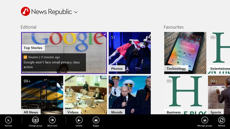 News Republic screen shot 0