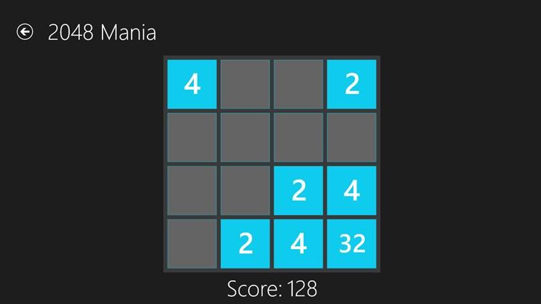 2048 Mania screen shot 0