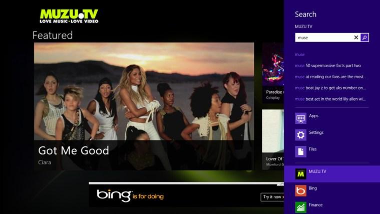 MUZU.TV screen shot 4