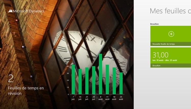 Dynamics AX 2012 Timesheets capture d'écran 0