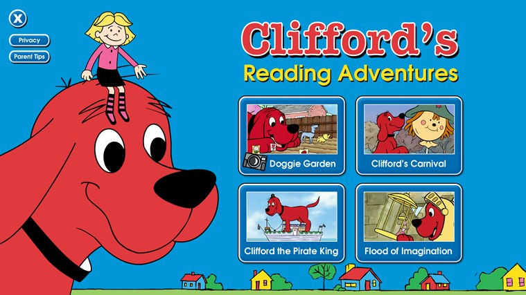 Clifford's Reading Adventures screen shot 0
