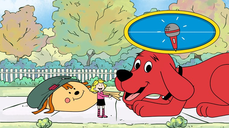 Clifford's Reading Adventures screen shot 4