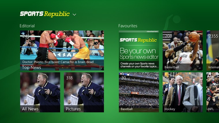 Sports Republic screen shot 0