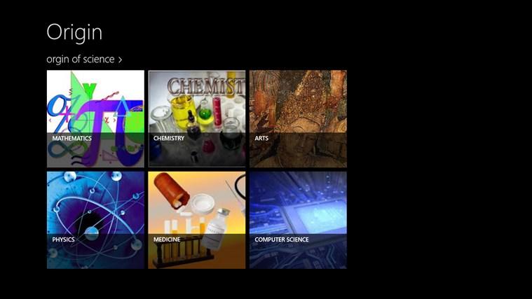 Origin screen shot 0
