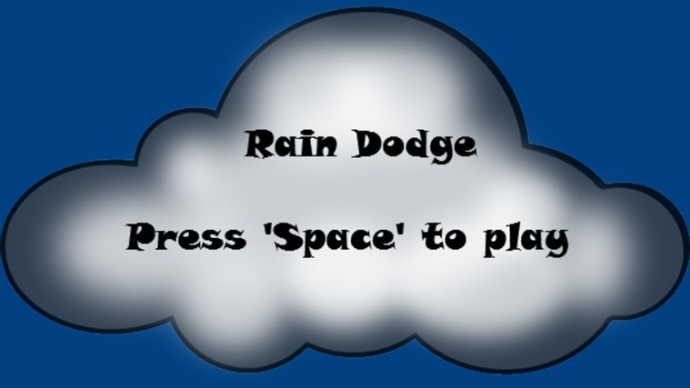 Rain Dodge screen shot 0