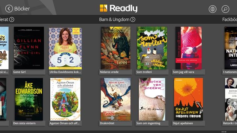 Readly-skärmbild 8