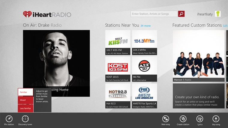 iHeartRadio screen shot 0