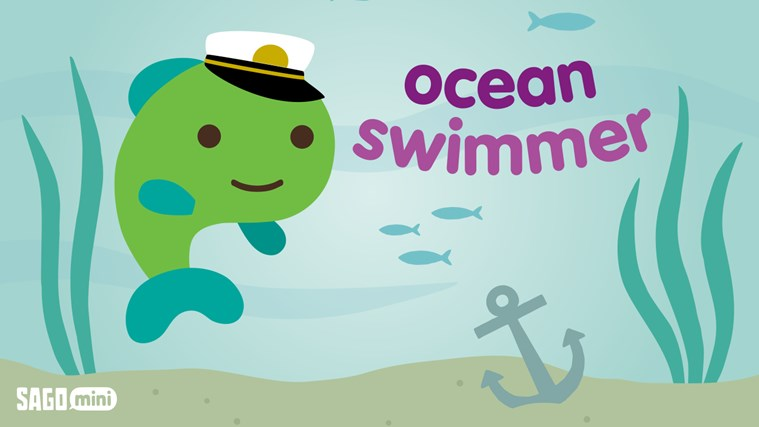Ocean Swimmer screen shot 0