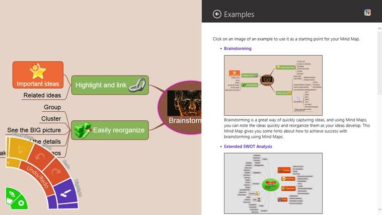 NovaMind Mind Mapping Complete screen shot 0