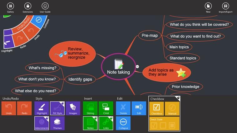 NovaMind Mind Mapping Complete screen shot 6